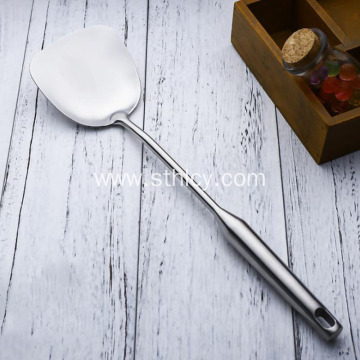 High Quality Stainless Steel Hollow Handle Fried Shovel