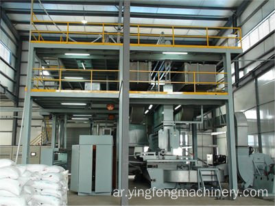 Full automatic AL-1600 Nonwoven fabric production machine