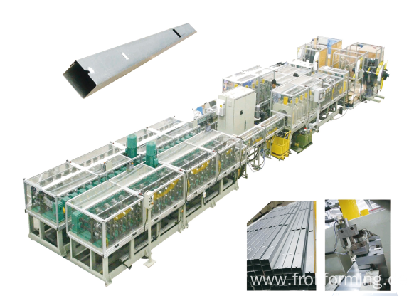 Long Life Span Bus Bar Roll Forming Line