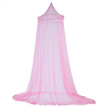 Pink color Girls Hanging Mosquito Nets Bed Canopy