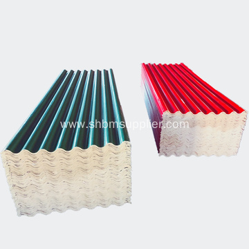 Typhoon Proof Fiber Glass MgO Roofing Tile