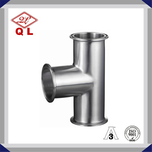 Stainless Steel Sanitary Clamped Equal Tee