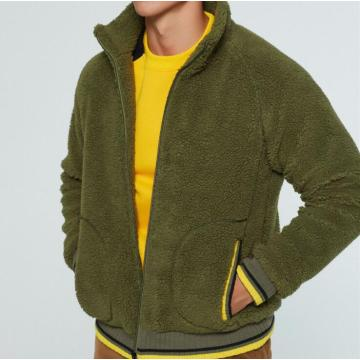 New Released Men Lambswool Coat Loose Fit