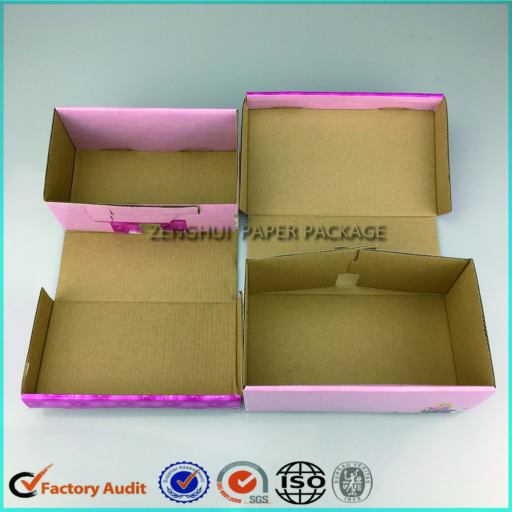 Cheap Baby Shoe Box Paper Packaging