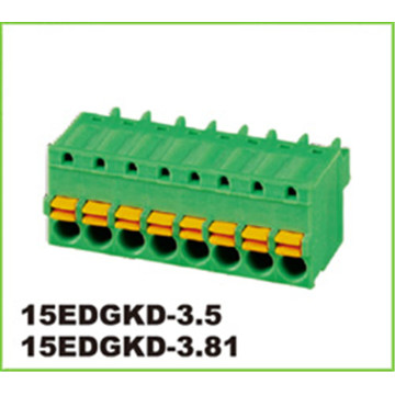 3.81mm Pitch Straight Europen Pluggable Terminal Block