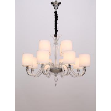 Modern Classic Delicate Indoor Living Room Glass Chandelier