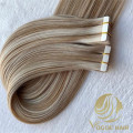 Cheap remy cuticle tape in hair extensions