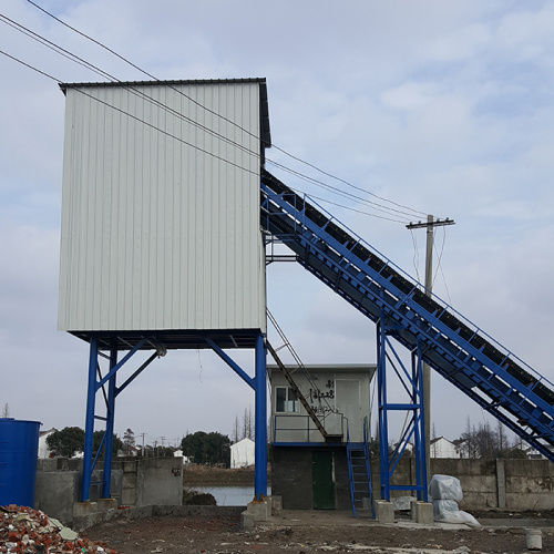 Concrete batching plant price HZS90 for in Gujarat