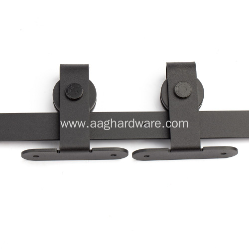 T Shape Modern Black Sliding Track Kit