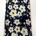 Hot Sale Flower Design Rayon Screen Print Fabric