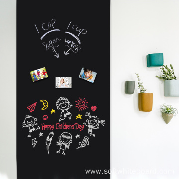 Self-Adhesive Vinyl Blackboard Wall Covering Film
