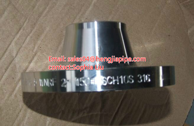carbon steel SCH10 WN flange