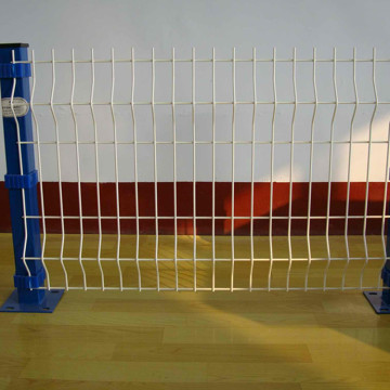 Popular Sale Powder Coated Welded 3D Fence Panels