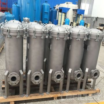 Large-flow security water filter for water treatment