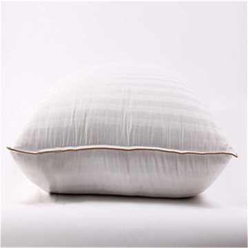 100% Cotton Cover With Zipper Bed Pillow