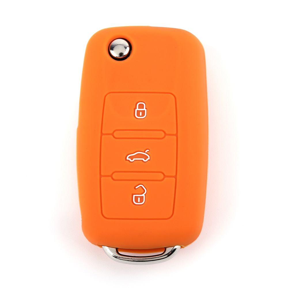Silicone Control Car Key Case
