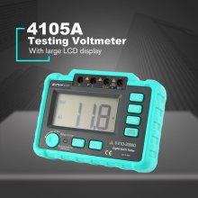 WINHY 4105A High Sensitive Digital Earth Ground Insulation Resistance Meter Testing Voltmeter Megohmmeter 20/200/2000Ohm