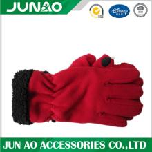 Wholesale Winter Warm Aduct Polar Fleece Gloves