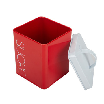 Rectangle Bread Box with Matching Food Storage Canister