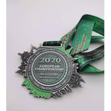 Custom 2020 Metal Stain Lacquer Sport Medallions
