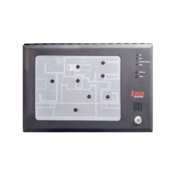 Fire Alarm Intelligent Graphic Repeater Panel