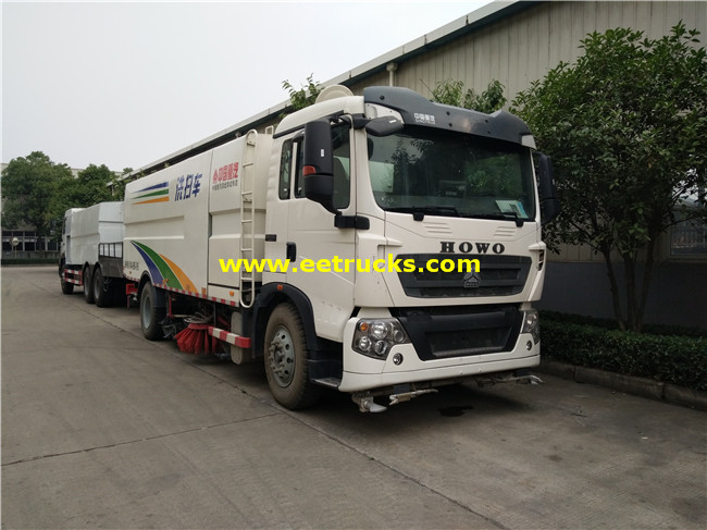 Vacuum Road Sweeper Truck