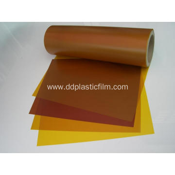 high temperature Gold  polyimide film for tape