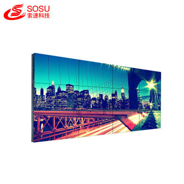 Ultra Narrow Bezel 1x4 lcd video wall