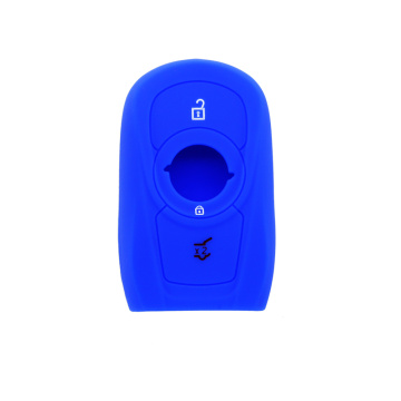 Soft touching silicone car key cover for Opel