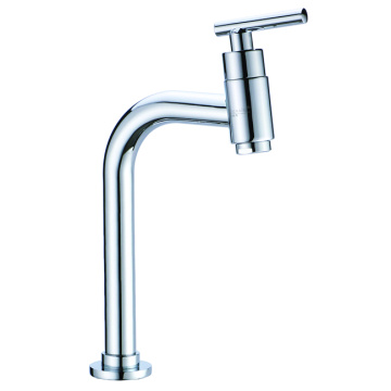 Single cold bar sink faucet high version