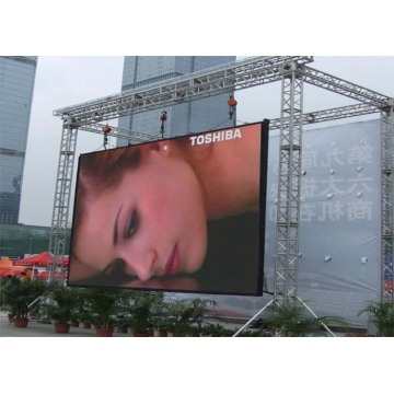 High resolution Seamless Outdoor Rental LED Screen