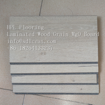 Shiplap Edge high-strength MgO Flooring HPL
