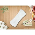 Natural organic cotton pantyliners for women