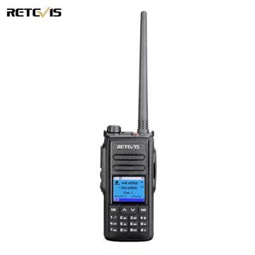 5W DMR Digital/Analog Walkie Talkie Retevis RT72 GPS UHF VHF Dual Band Two Way Radio 4000 CH Handheld Radio Station Hams Radio