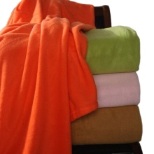 Flame Retardant 100 Polyester Polar Fleece Blanket