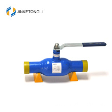 manufacture quickly deliver standard port pneumatic fully welded ball valve of china professional