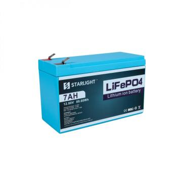 12.8V 7AH LiFePO4 Battery Replace Lead-Acid Battery
