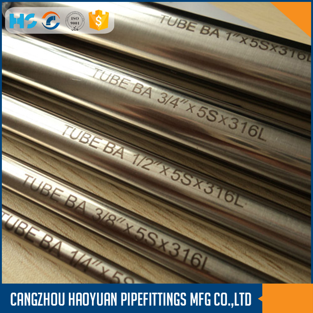 Stainless Steel Pipe Welded in schedule 5