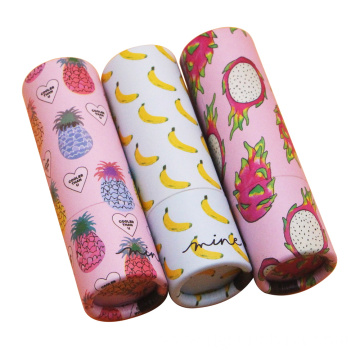 Pinky lipstick tube cardboard eco-friendly