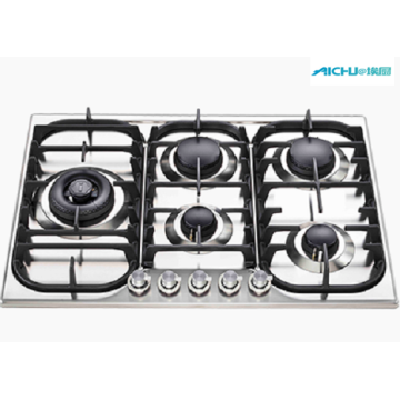 90cm Gas Cooktop Grey Cookers