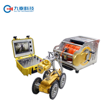 Portable  Crawler Tractor Cameras with Large Monitor