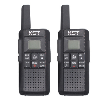 KST V2 License Free PMR446 Walkie Talkie with Rechargable Li-ion battery long range CE Certified with CTCSS DCS Private codes