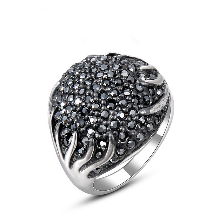 Top sale fashion luxurious rings for wedding
