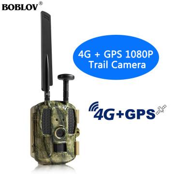 BOBLOV 4G Hunting camera GPS FTP Camera trail Email 4G Hunting Wildlife camera support MMS GPRS GSM Photo traps 4G Night vision