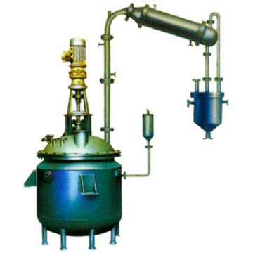 Durable resin reactor stainless steel reaction vessel
