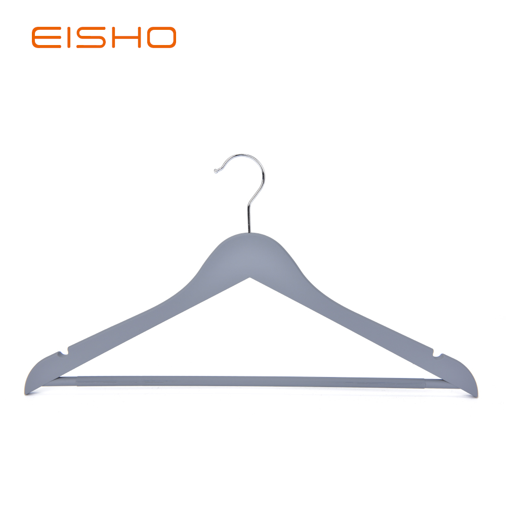 Eisho Solid Wood Black Laundry Wooden Shirts Hanger3