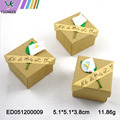 Kraft Paper Ring Boxes Gift Box Flower