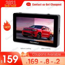 Feelworld F6 PLUS Monitor Aluminum Alloy 5.5 Inch Touch Screen Director Monitor DSLR Camera 4K Micro Single Display