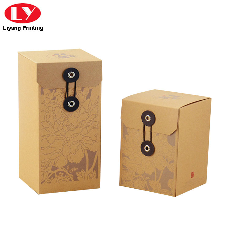 Tea Box String Close