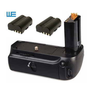 MB-D80 Battery Grip+2x EN-EL3E Batteries for Nikon D80 D90 Digital SLR Cameras.